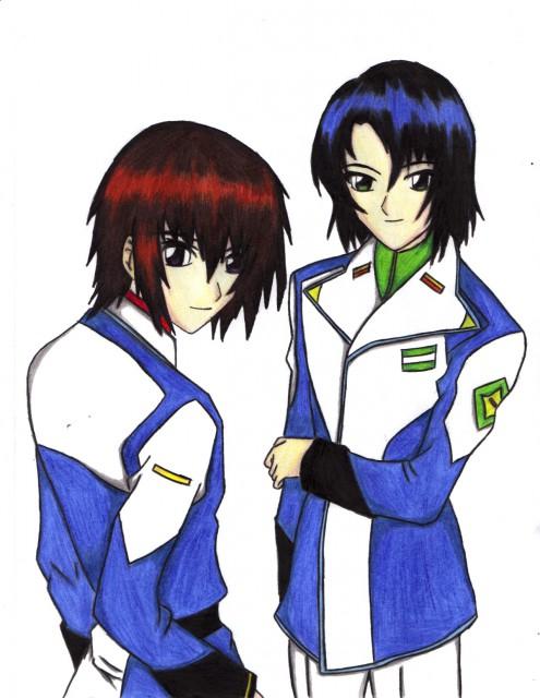 Sunrise (Studio), Mobile Suit Gundam SEED Destiny, Athrun Zala, Kira Yamato, Member Art