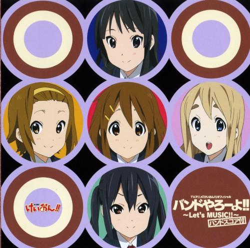 Kakifly, Kyoto Animation, K-On!, Ritsu Tainaka, Mio Akiyama