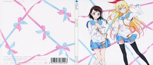 Komi Naoshi, Nisekoi, Kosaki Onodera, Chitoge Kirisaki, Album Cover