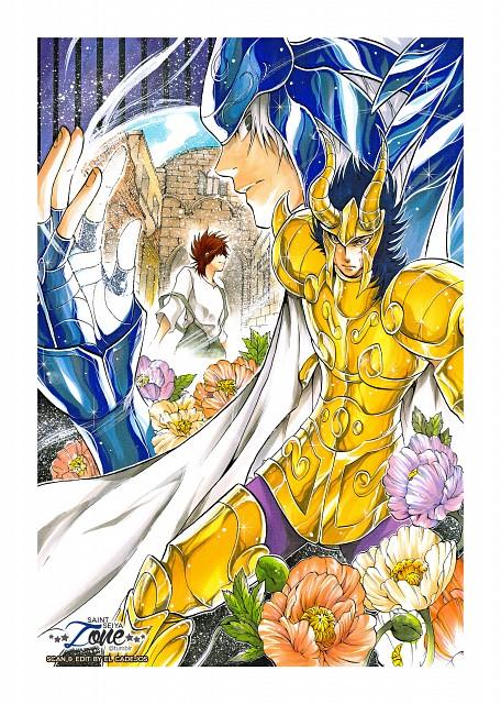 Shiori Teshirogi, TMS Entertainment, Saint Seiya: The Lost Canvas, Pegasus Tenma, Capricorn El Cid