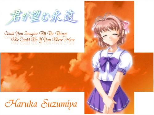 Kimi ga Nozomu Eien, Haruka Suzumiya Wallpaper