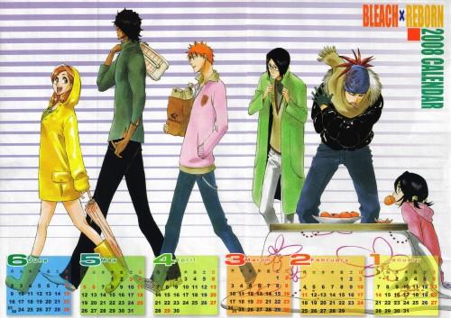 Kubo Tite, Bleach, Rukia Kuchiki, Orihime Inoue, Yasutora Sado