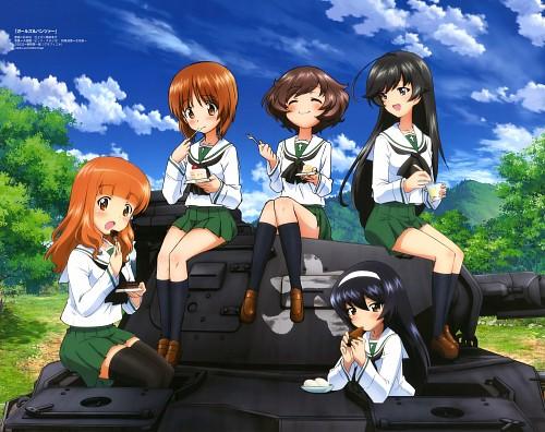 Isao Sugimoto, Actas, GIRLS und PANZER, Saori Takebe, Mako Reizei