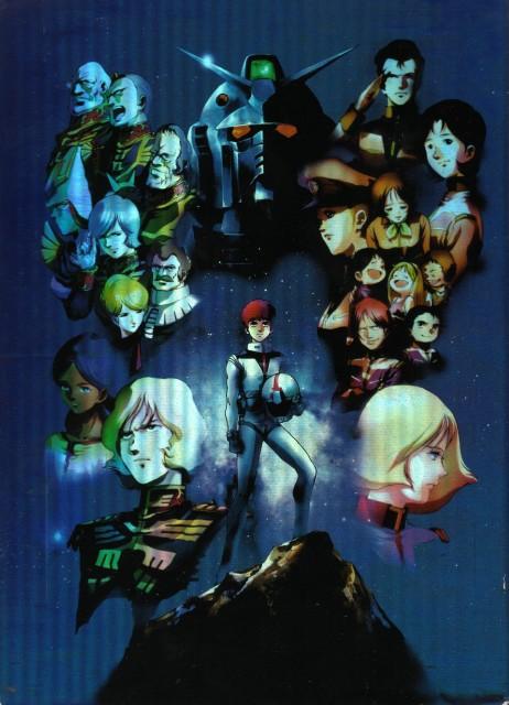 Sunrise (Studio), Mobile Suit Gundam - Universal Century, Lalah Sune, Bright Noah, Mirai Yashima