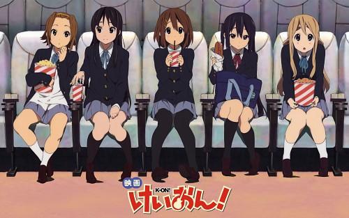 Kakifly, Kyoto Animation, K-On!, Azusa Nakano, Mio Akiyama