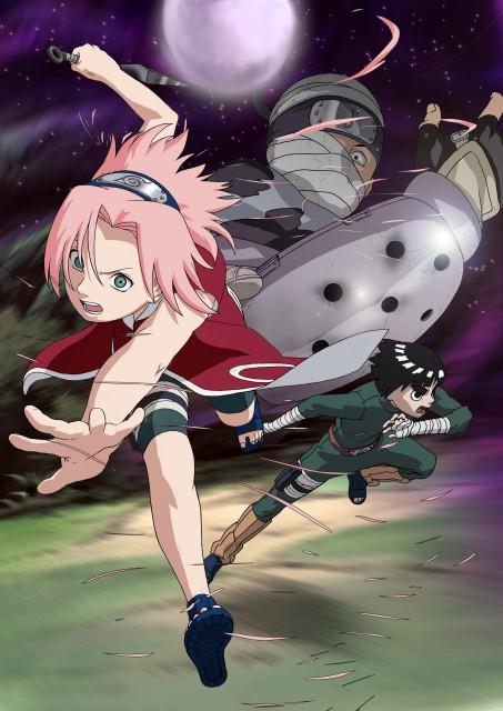Studio Pierrot, Naruto, Dosu Kinuta, Rock Lee, Sakura Haruno