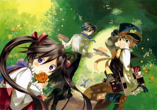 Jun Mochizuki, Pandora Hearts, Pandora Hearts ~odds and ends~, Emily (Pandora Hearts), Alice (Pandora Hearts)