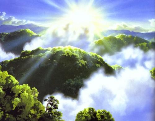 Kazuo Oga, Studio Ghibli, Princess Mononoke
