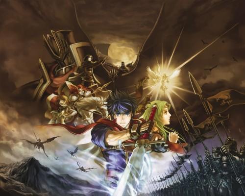 Senri Kita, Nintendo, Fire Emblem, Titania (Fire Emblem), Elincia Ridell Crimea
