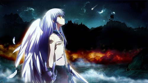 Na-Ga, Key (Studio), P.A. Works, Angel Beats!, Kanade Tachibana Wallpaper