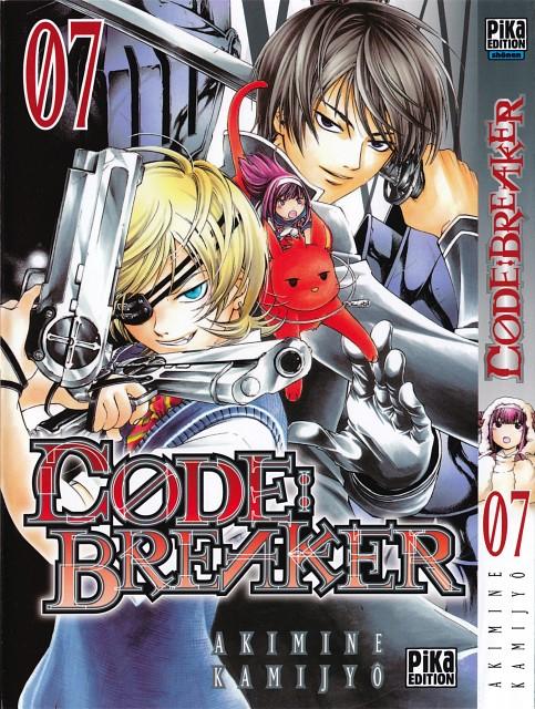 Akimine Kamijyo, Code: Breaker, Toki Fujiwara, Sakura Sakurakouji, Rei Ogami