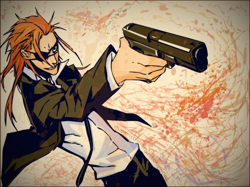 Dogs: Bullets and Carnage, Badou Nails, Vector Art Wallpaper