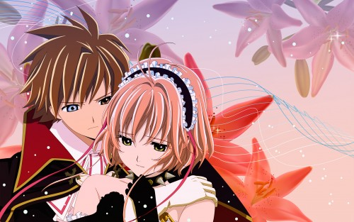 CLAMP, Production I.G, Tsubasa Reservoir Chronicle, Sakura Kinomoto, Syaoran Li Wallpaper
