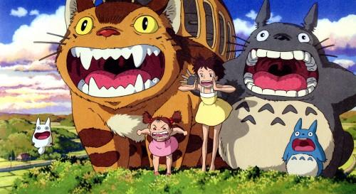 Hayao Miyazaki, Studio Ghibli, My Neighbor Totoro, Satsuki Kusakabe, Totoro