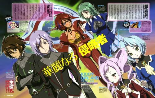 Keiji Gotoh, Satelight, Kiddy Grade, Letuchaia, Saphir (Kiddy Grade)