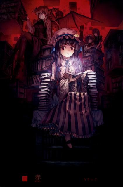 Kichiroku, Lunade Luna, Saikei, Touhou, Remilia Scarlet
