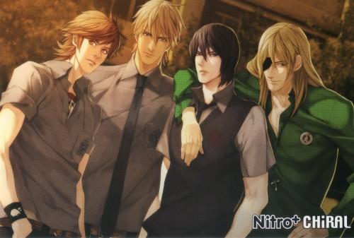 Nitro+, Sweet Pool, Makoto Mita, Zenya Okinaga, Tetsuo Shironuma