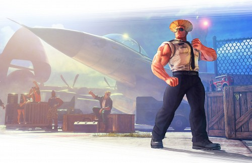 Capcom, Street Fighter, Guile