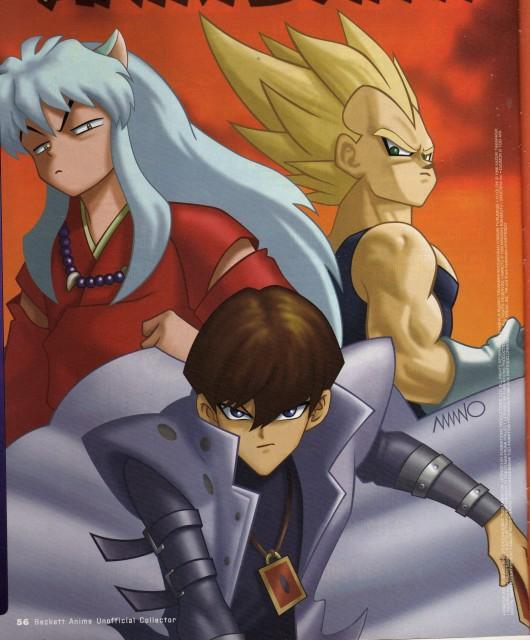 Yu-Gi-Oh! Duel Monsters, Inuyasha, Dragon Ball, Super Saiyan Vegeta, Inuyasha (Character)