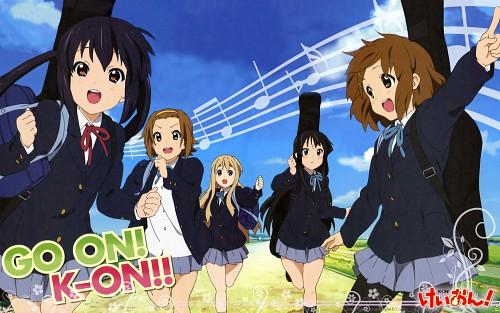 Kakifly, Kyoto Animation, K-On!, Yui Hirasawa, Mio Akiyama