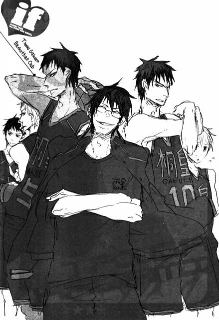 Sukekiyo Inugami, Kuroko no Basket, Kousuke Wakamatsu, Ryou Sakurai (Kuroko no Basket), Yoshinori Susa