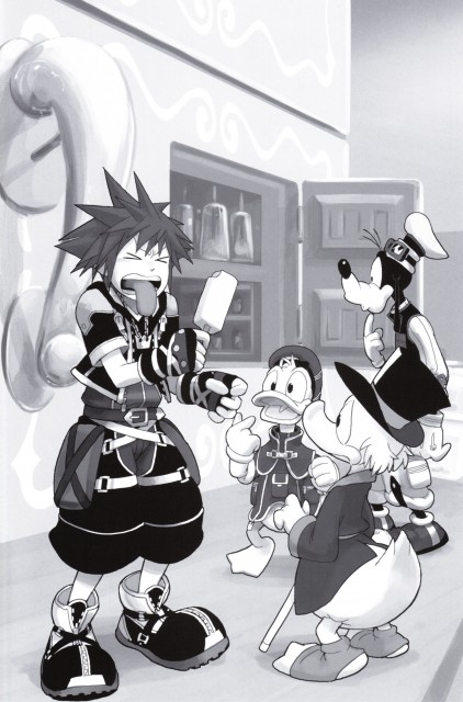 Shiro Amano, Art Works Kingdom Hearts, Kingdom Hearts, Scrooge McDuck, Goofy