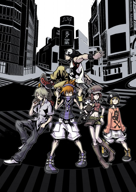 Square Enix, The World Ends With You, Raimu Bito, Daisukenojo Bito, Yoshiya Kiryu