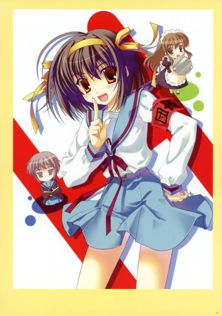 Naru Nanao, The Melancholy of Suzumiya Haruhi, Nanatsu no Ashiato, Haruhi Suzumiya, Yuki Nagato