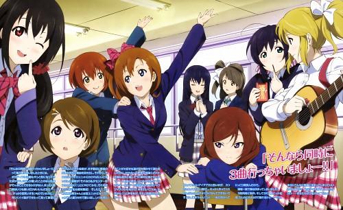 Love Live! School Idol Project, Niko Yazawa, Honoka Kosaka, Umi Sonoda, Rin Hoshizora
