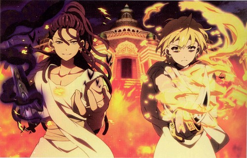 Shinobu Ohtaka, A-1 Pictures, MAGI: The Labyrinth of Magic, Cassim, Alibaba Saluja
