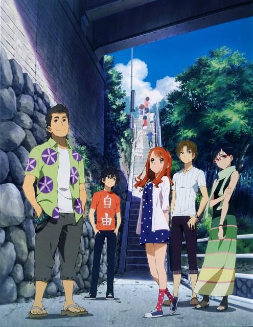 A-1 Pictures, AnoHana, Chiriko Tsurumi, Naruko Anjou, Tetsudou Hisakawa