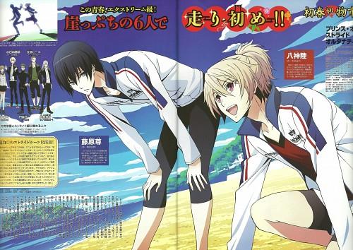 Madhouse, Prince of Stride, Takeru Fujiwara, Riku Yagami, Animedia
