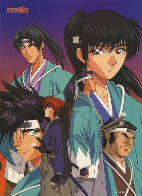 Nobuhiro Watsuki, Studio Gallop, Studio DEEN, Rurouni Kenshin, Kenshin Himura