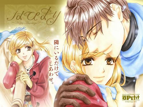 Maki Enjouji, Hapi Mari, Chiwa Mamiya, Hokuto Mamiya, Official Wallpaper