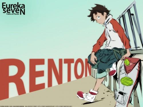 Kazuma Kondou, BONES, Eureka 7, Renton Thurston, Vector Art Wallpaper