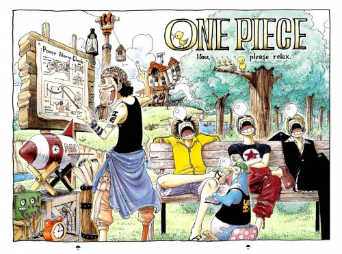 Eiichiro Oda, One Piece, Color Walk 3 - Lion, Usopp, Roronoa Zoro