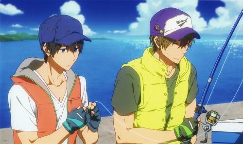 Kyoto Animation, Free!, Makoto Tachibana, Haruka Nanase (Free!), DVD Cover