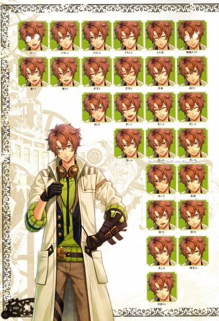 miko (Mangaka), Idea Factory, Code: Realize Official Visual Fan Book, Code: Realize, Victor Frankenstein