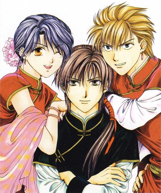 Yuu Watase, Fushigi Yuugi: Genbu Kaiden, Fushigi Yuugi, Genbu Kaiden 9.5 Official Fan Book, Uruki