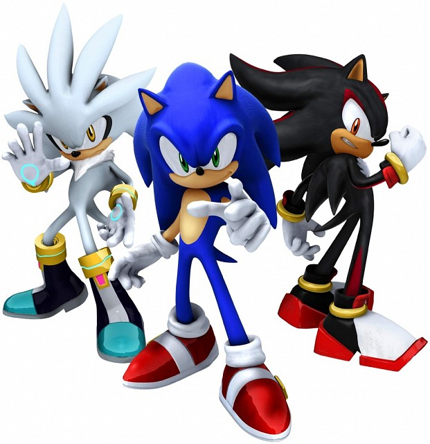 Sega, Sonic the Hedgehog, Silver The Hedgehog, Sonic, Shadow the Hedgehog
