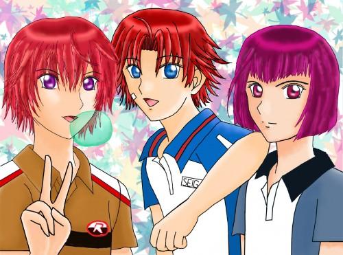 J.C. Staff, Prince of Tennis, Eiji Kikumaru, Gakuto Mukahi, Bunta Marui