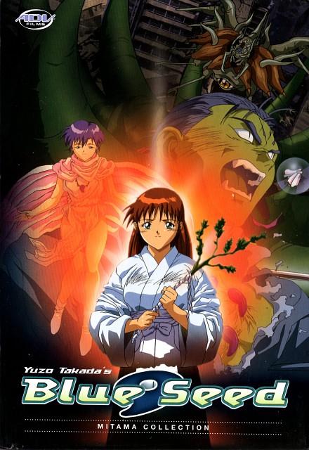 Yuzo Takada, Production I.G, Blue Seed, Momiji Fujimiya, Kaede Kunikida