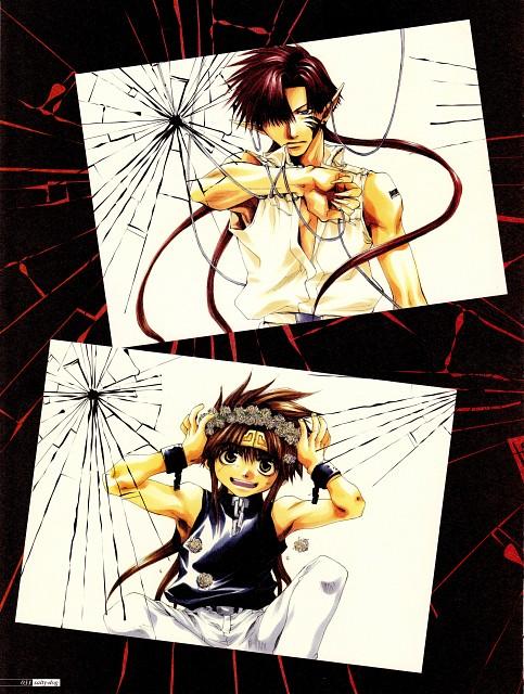 Kazuya Minekura, Studio Pierrot, Saiyuki, Salty Dog I, Son Goku (Saiyuki)