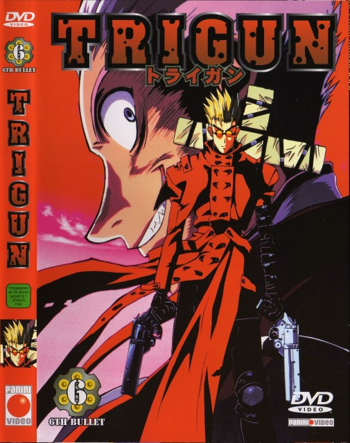 Yasuhiro Nightow, Madhouse, Trigun, Knives (Trigun), Vash the Stampede
