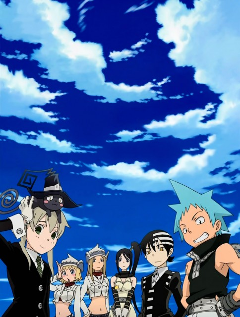 Soul Eater, Black Star, Death The Kid, Patty Thompson, Liz Thompson
