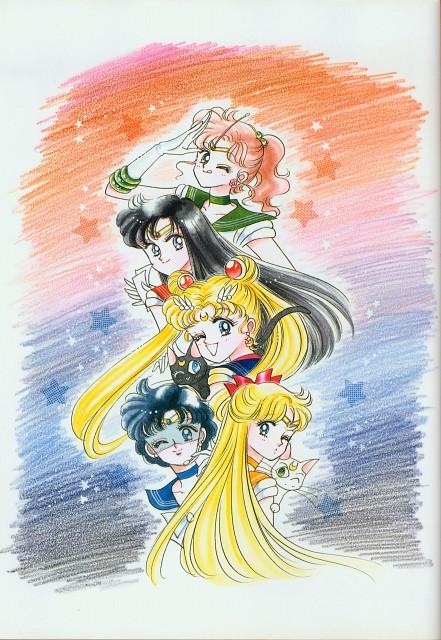 Naoko Takeuchi, Bishoujo Senshi Sailor Moon, BSSM Original Picture Collection Vol. II, Sailor Jupiter, Sailor Moon