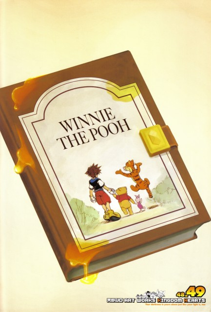 Shiro Amano, Art Works Kingdom Hearts, Kingdom Hearts, Sora, Winnie The Pooh