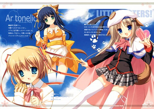 Chikotam, Key (Studio), Colorful Lunch Pack, Ar Tonelico II, Little Busters
