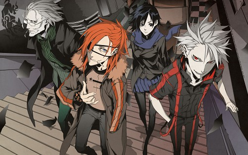 Miwa Shirow, Dogs: Bullets and Carnage, Mihai Mihaeroff, Haine Rammsteiner, Naoto Fuyumine Wallpaper
