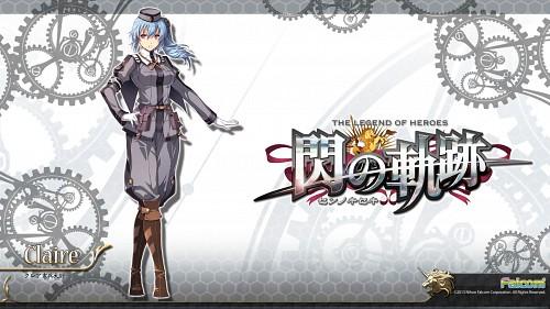 Falcom, The Legend of Heroes: Zero no Kiseki, Claire (Zero no Kiseki), Official Wallpaper